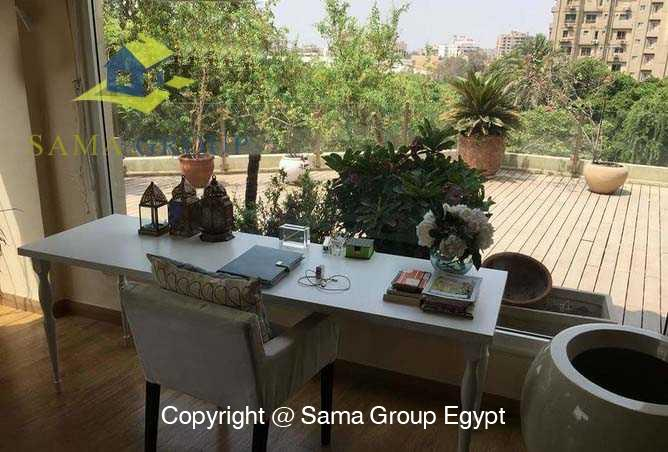 Penthouse For Rent In Maadi Degla,Modern Furnished,Penthouse NO #9