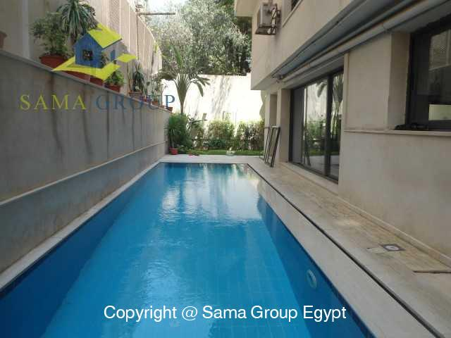Ground Floor with Swimming Pool For Rent In Maadi