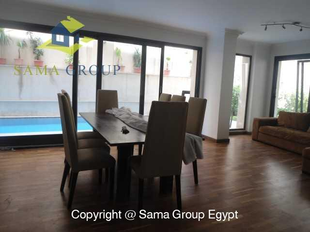 Ground Floor with Swimming Pool For Rent In Maadi,Modern Furnished,Ground Floor NO #18
