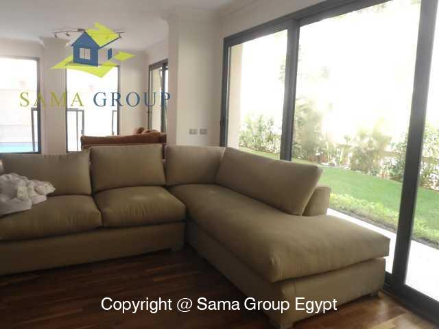 Ground Floor with Swimming Pool For Rent In Maadi,Modern Furnished,Ground Floor NO #20