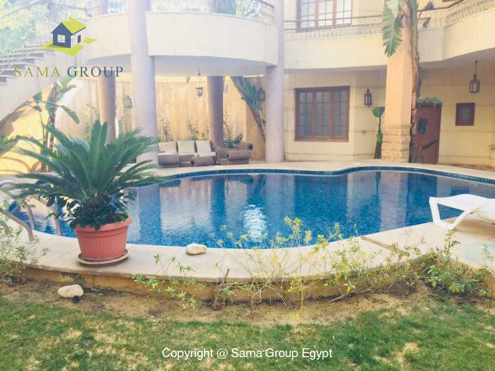 Villa For Rent in New Cairo West Golf,Furnished,Villa NO #12