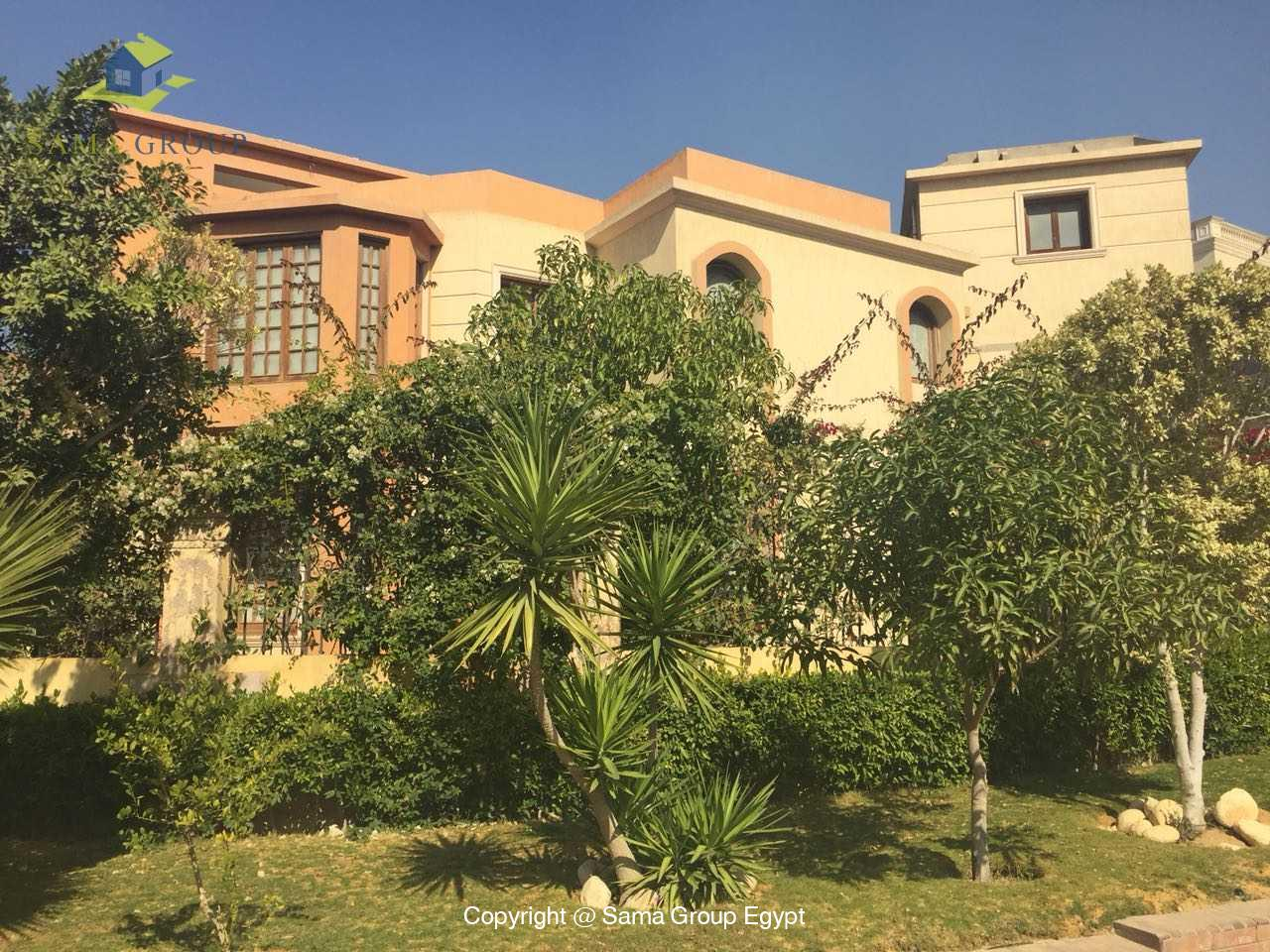 Villa For Rent in New Cairo West Golf,Furnished,Villa NO #10