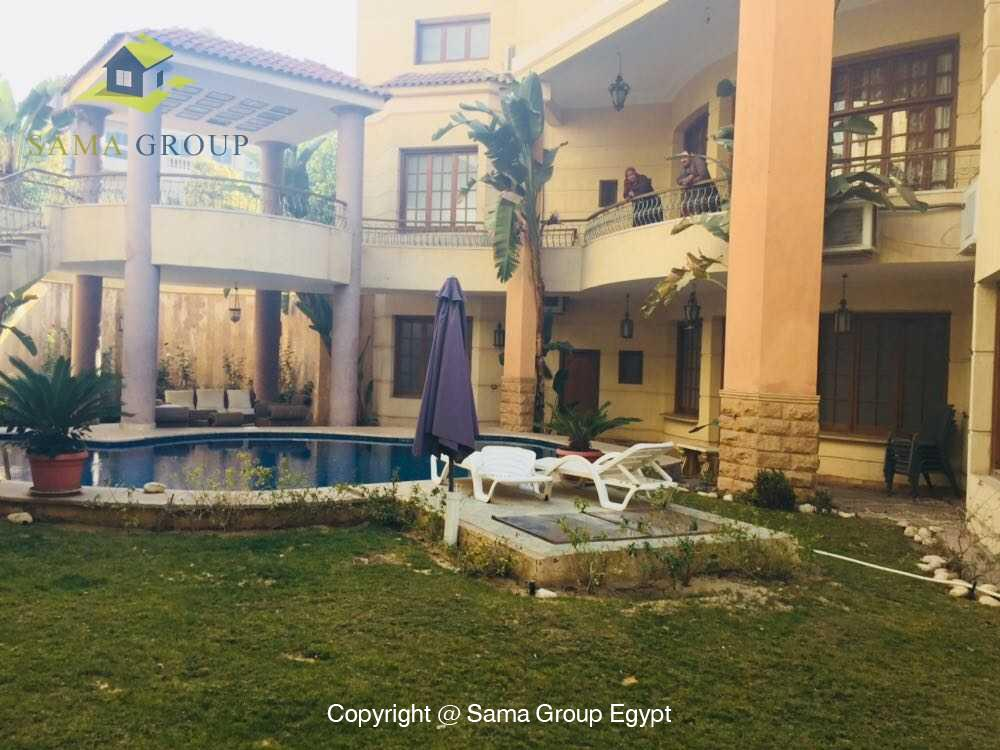 Villa For Rent in New Cairo West Golf,Furnished,Villa NO #9