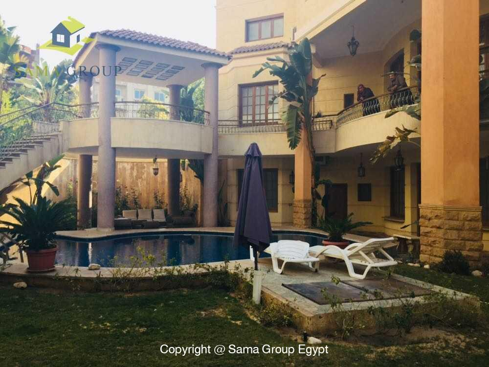 Villa For Rent in New Cairo West Golf,Furnished,Villa NO #2