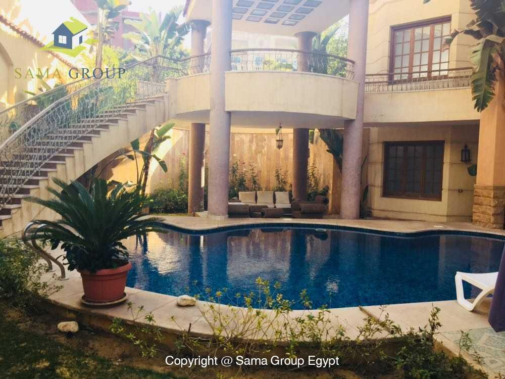 Villa For Rent in New Cairo West Golf,Furnished,Villa NO #13