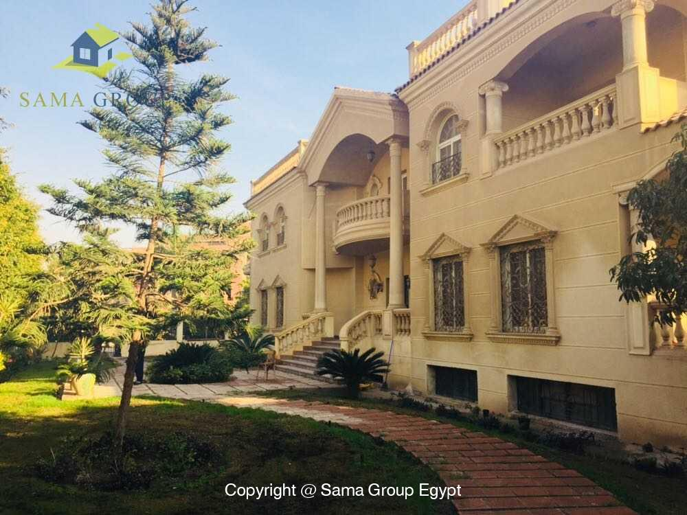 Villa For Rent in New Cairo West Golf,Furnished,Villa NO #1