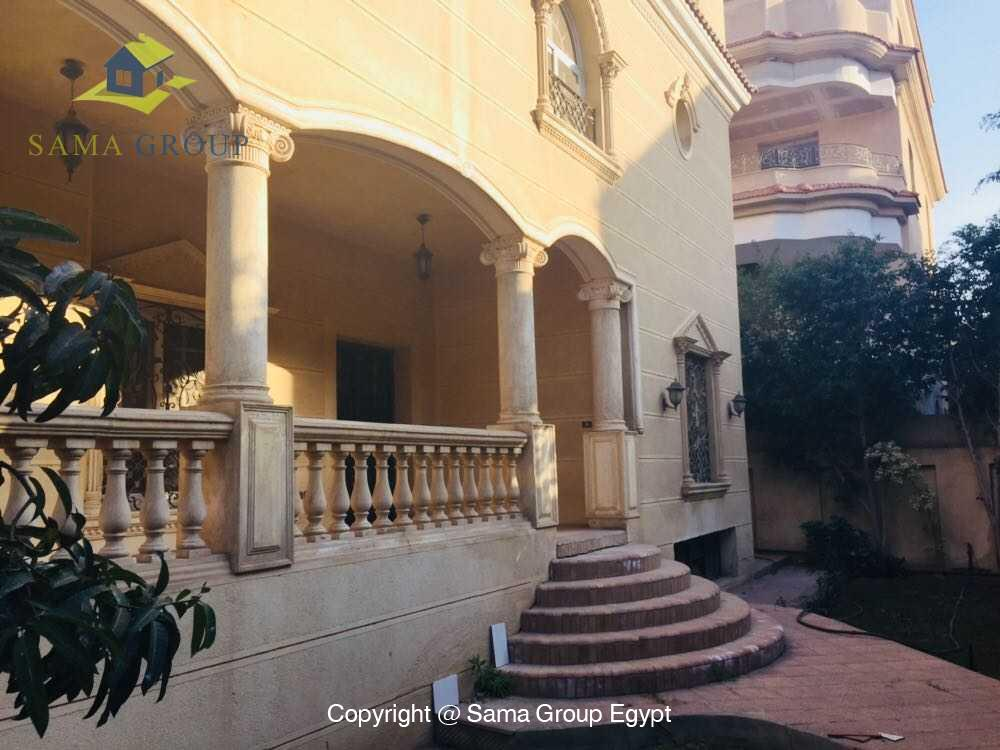 Villa For Rent in New Cairo West Golf,Furnished,Villa NO #3