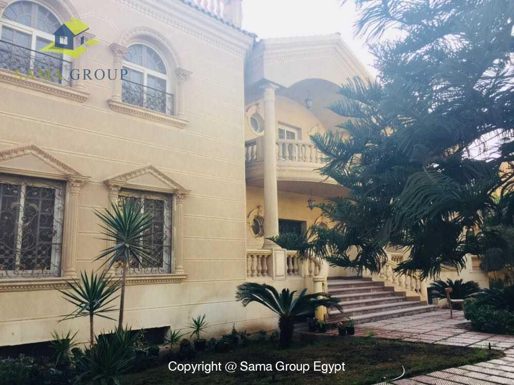 Villa For Rent in New Cairo West Golf,Furnished,Villa NO #4