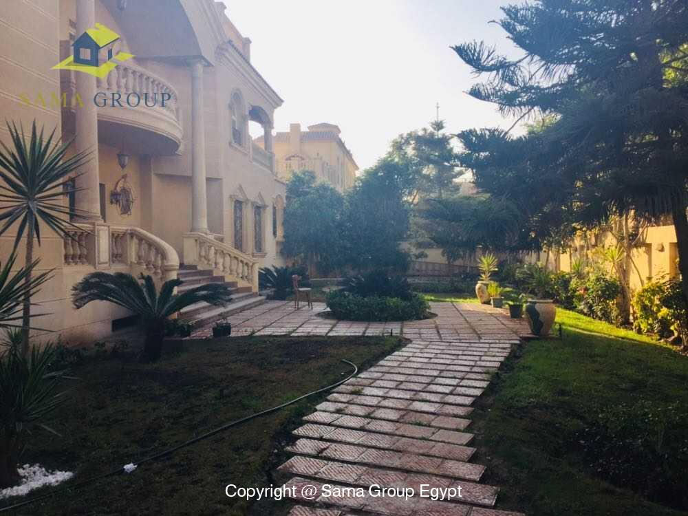 Villa For Rent in New Cairo West Golf,Furnished,Villa NO #5