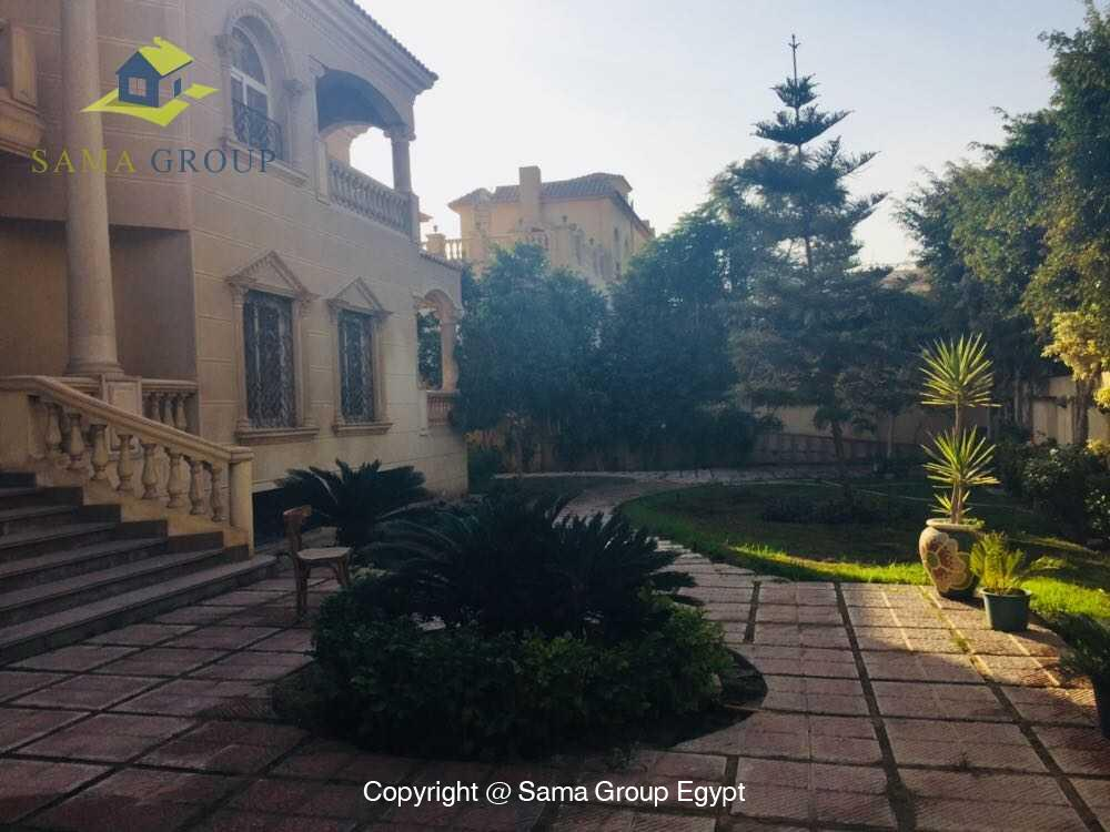 Villa For Rent in New Cairo West Golf,Furnished,Villa NO #6