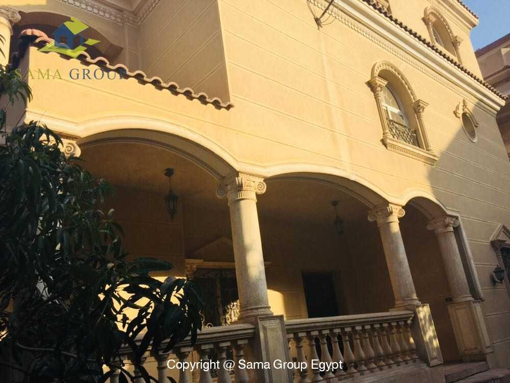 Villa For Rent in New Cairo West Golf,Furnished,Villa NO #7