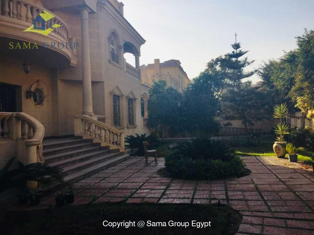 Villa For Rent in New Cairo West Golf,Furnished,Villa NO #8