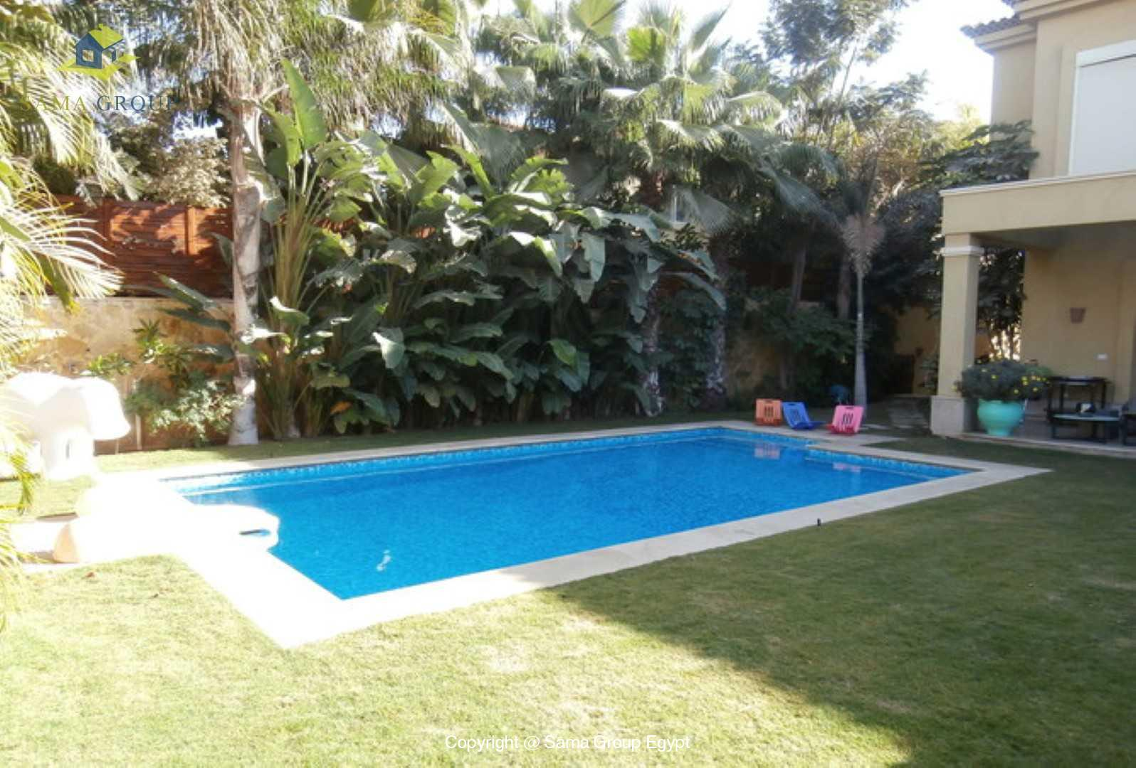Amazing Villa With Pool For Rent In Lake View,Modern Furnished,Villa NO #1