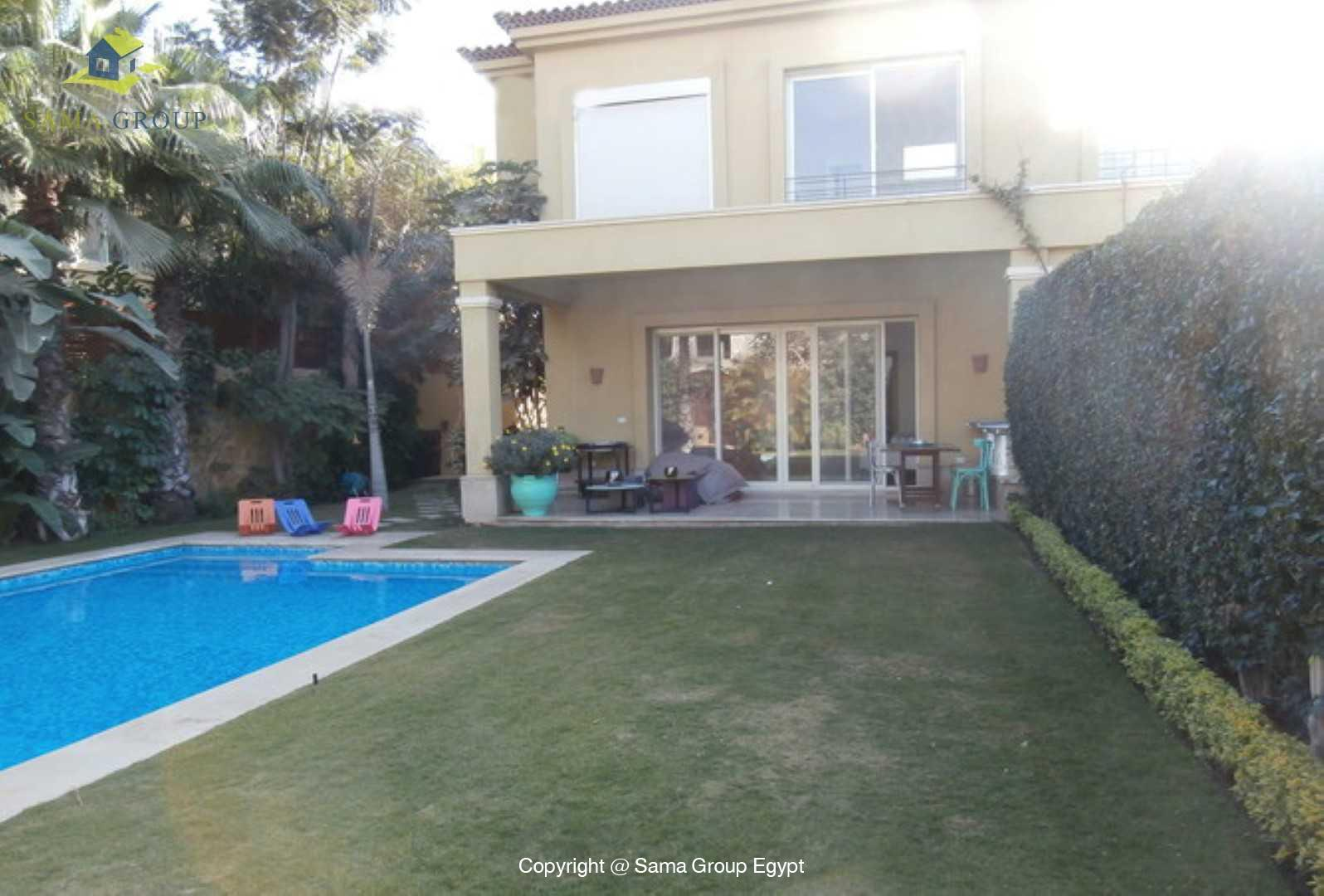 Amazing Villa With Pool For Rent In Lake View,Modern Furnished,Villa NO #2