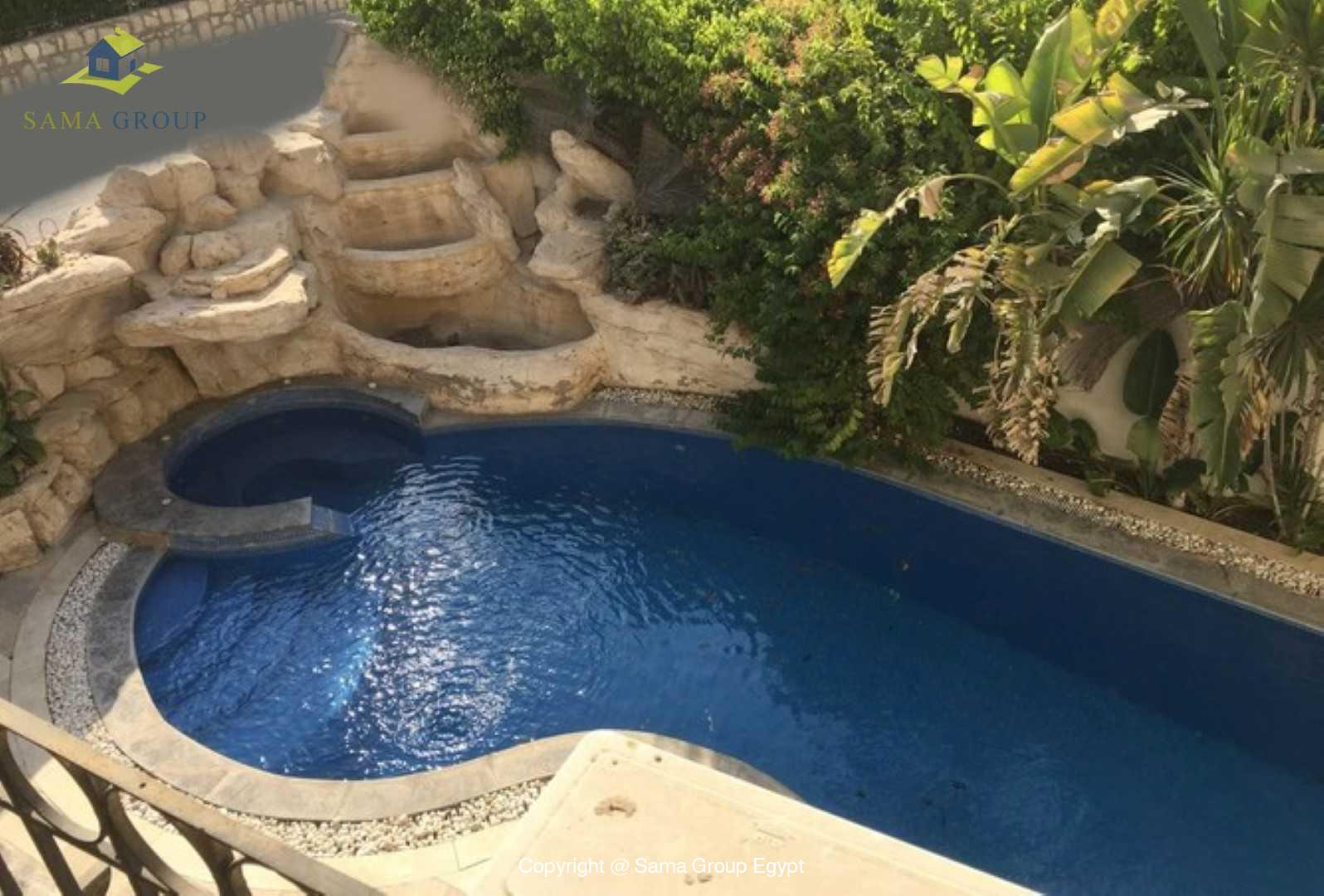 villa For Rent In Katameya Residence,Furnished,Villa NO #13