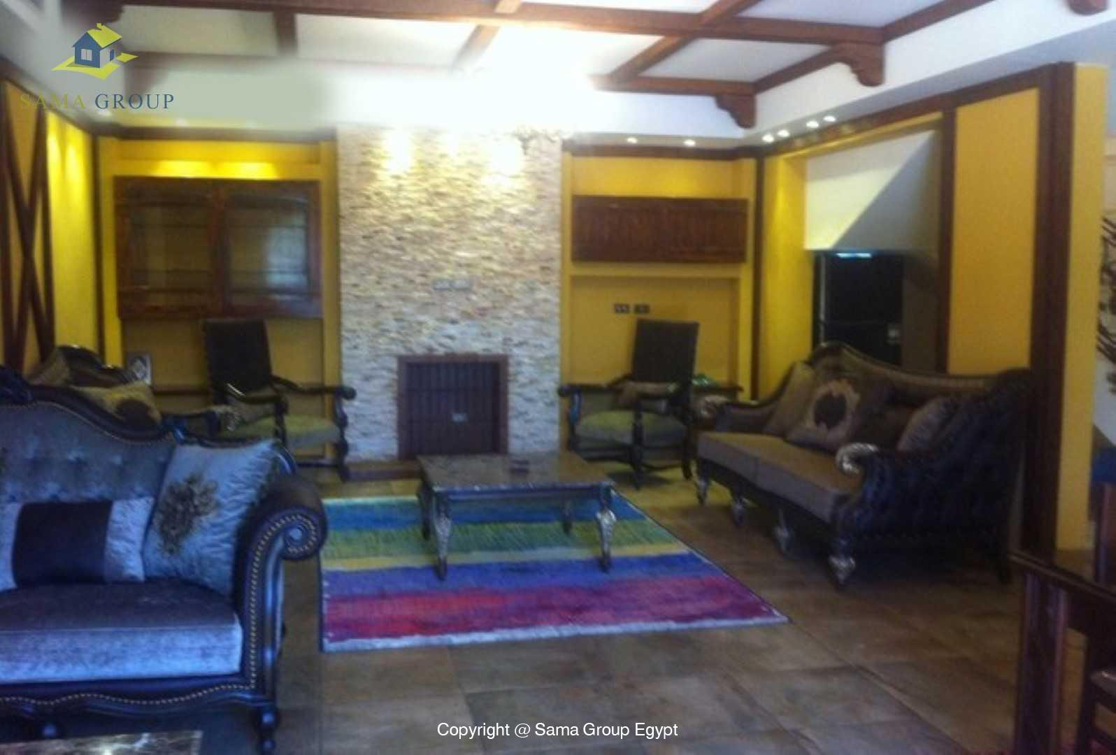 villa For Rent In Katameya Dunes,Modern Furnished,Villa NO #8