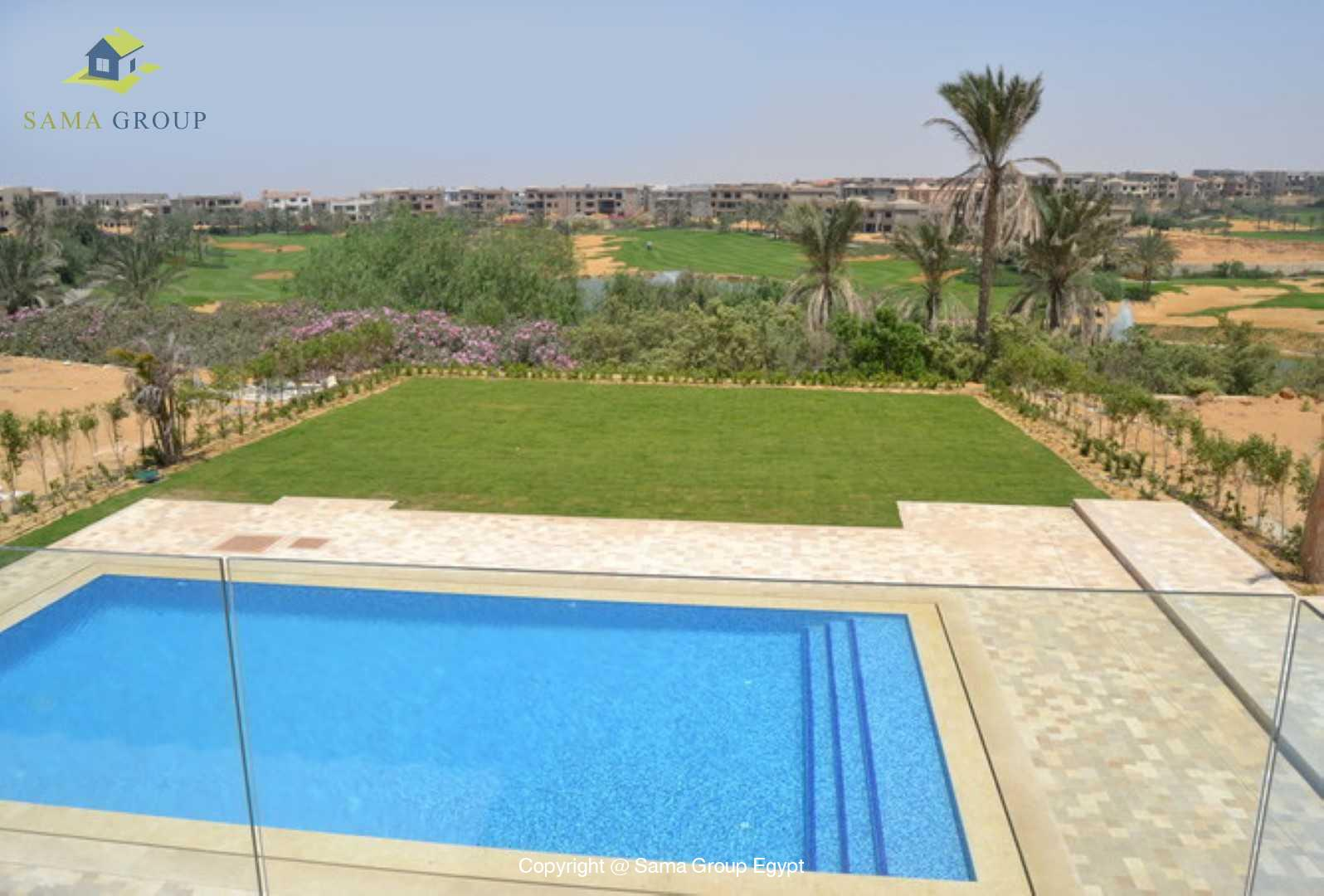 Villa For Rent In Katameya Dunes,Semi furnished,Villa NO #1