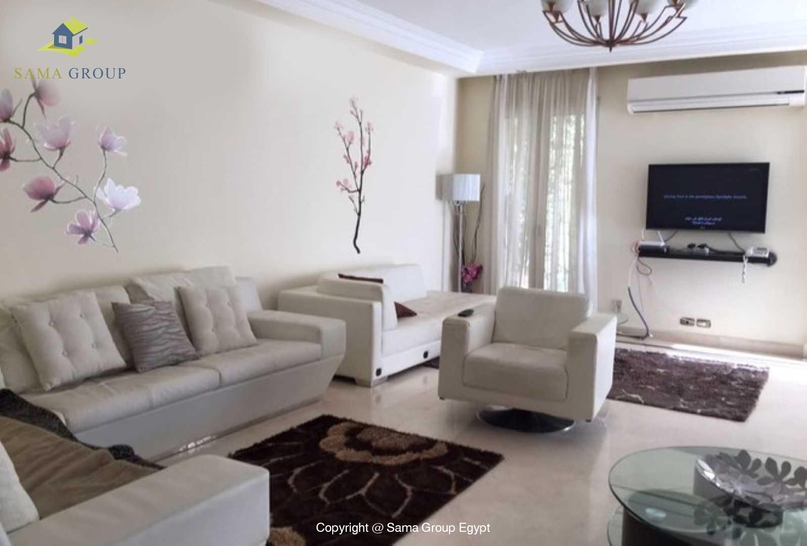 Ground Floor For Rent In Katameya Heights,Modern Furnished,Ground Floor NO #1