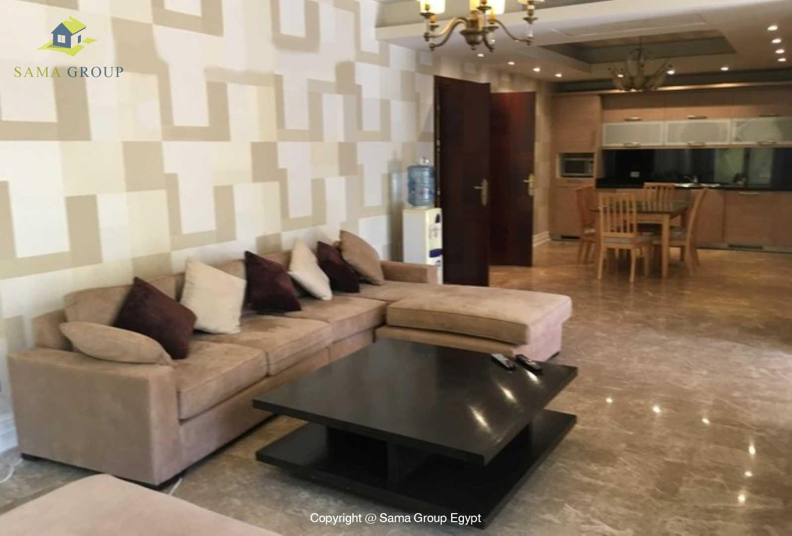 Ground Floor For Rent In Katameya Heights,Modern Furnished,Ground Floor NO #9