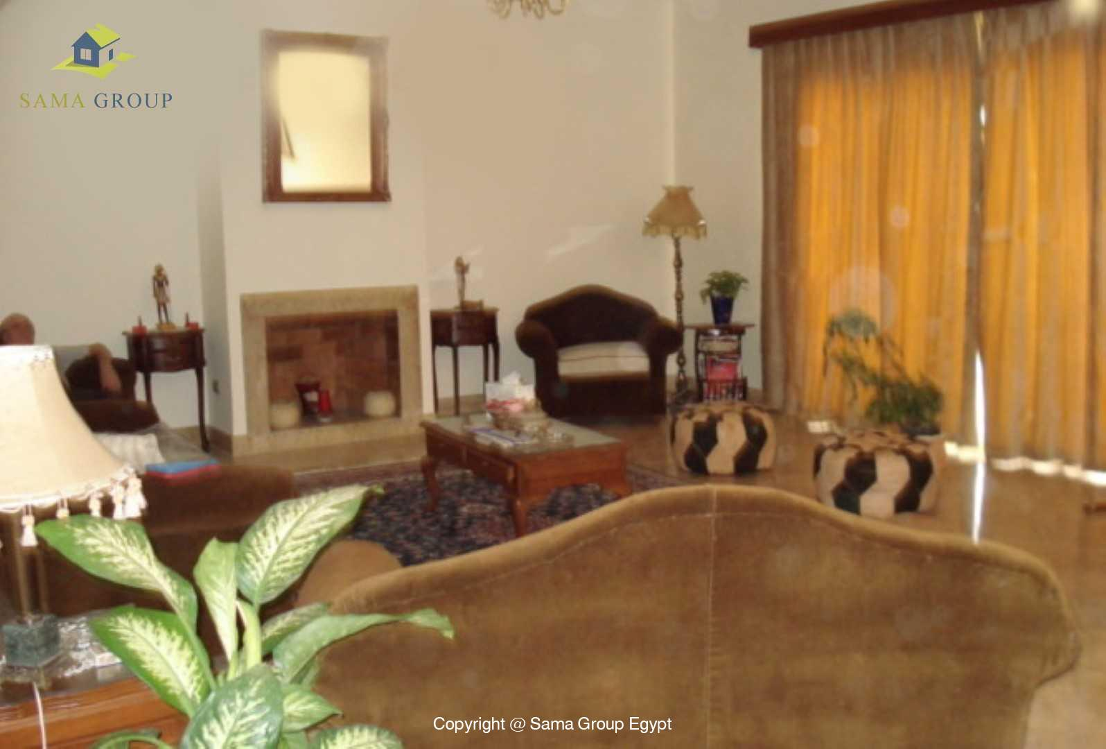 Villa For Rent In Katameya Heights,Furnished,Villa NO #3