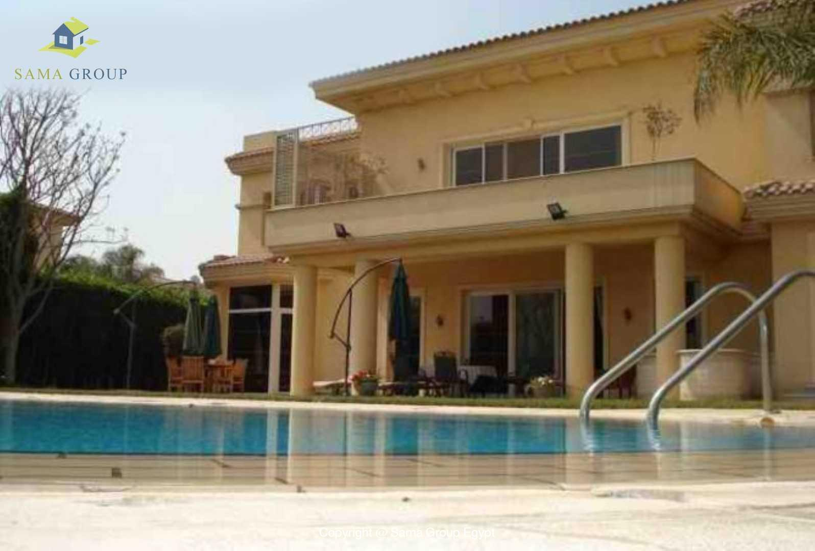 Amazing Villa For Rent In Katameya Heights,Modern Furnished,Villa NO #2