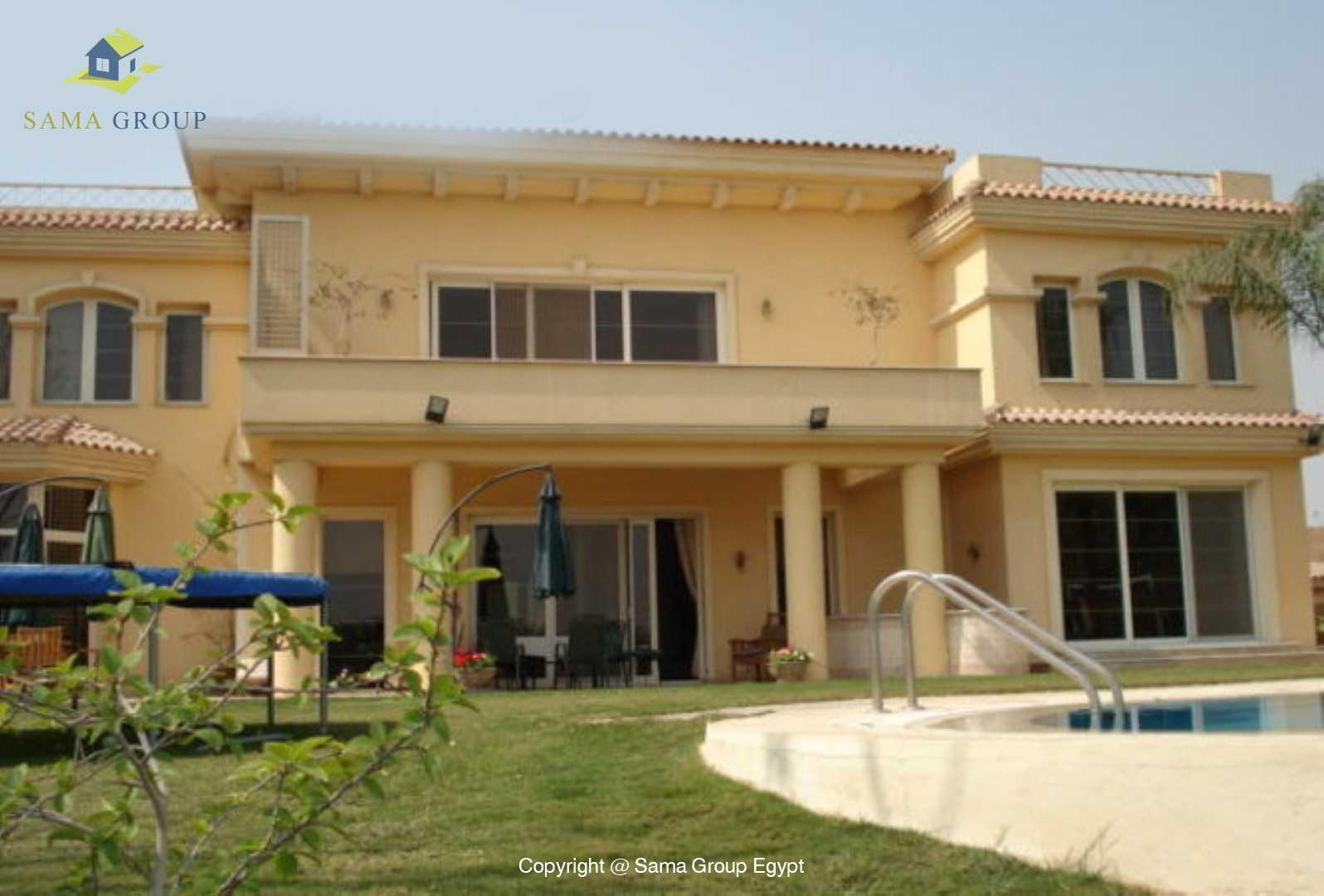 Amazing Villa For Rent In Katameya Heights,Modern Furnished,Villa NO #5