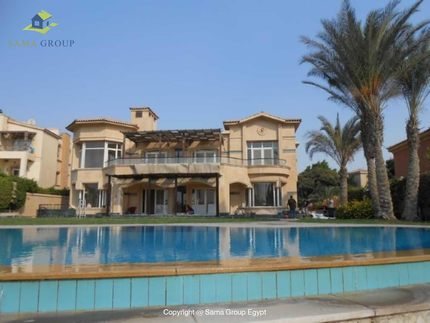 Golf View Villa For Rent In Katameya Heights