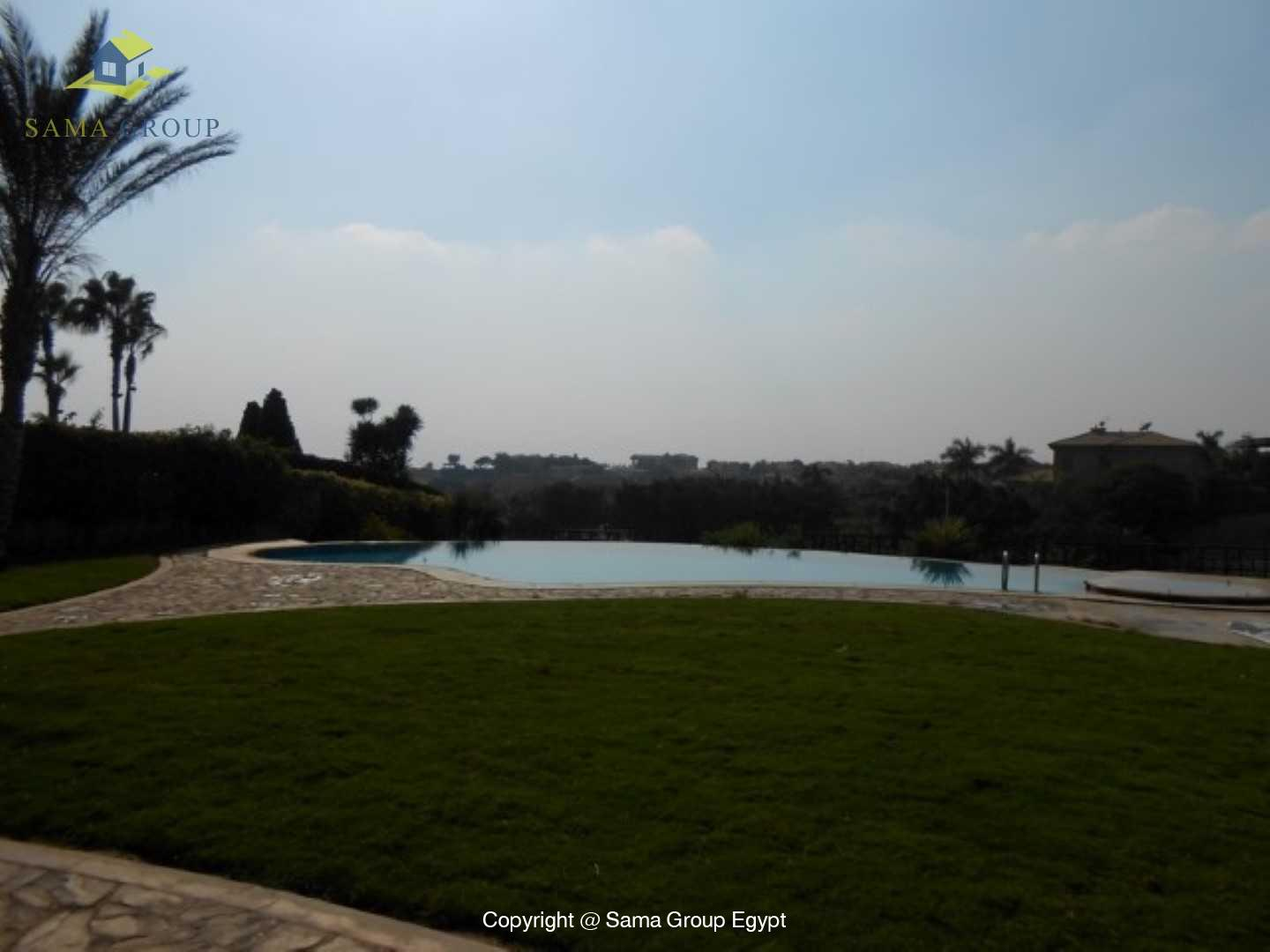 Golf View Villa For Rent In Katameya Heights,Semi furnished,Villa NO #20