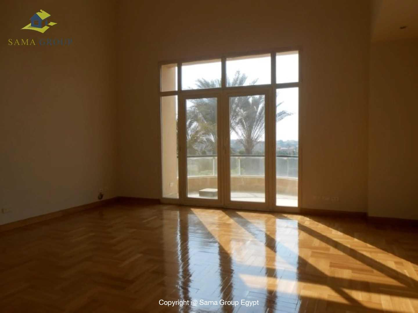 Golf View Villa For Rent In Katameya Heights,Semi furnished,Villa NO #5