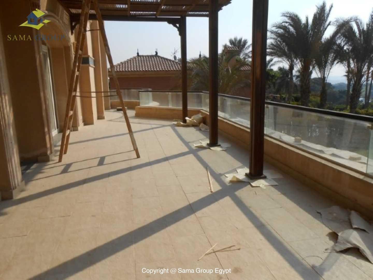 Golf View Villa For Rent In Katameya Heights,Semi furnished,Villa NO #10
