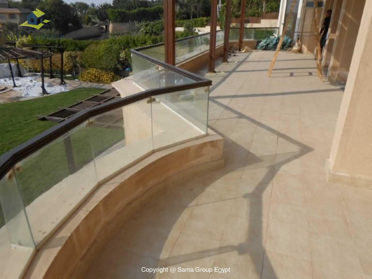 Golf View Villa For Rent In Katameya Heights,Semi furnished,Villa NO #12