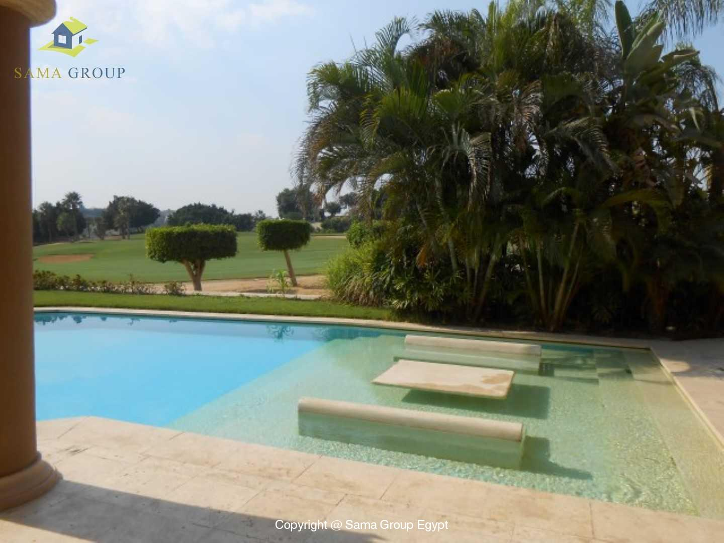 Villa For Rent In Katameya Heights,Semi furnished,Villa NO #33