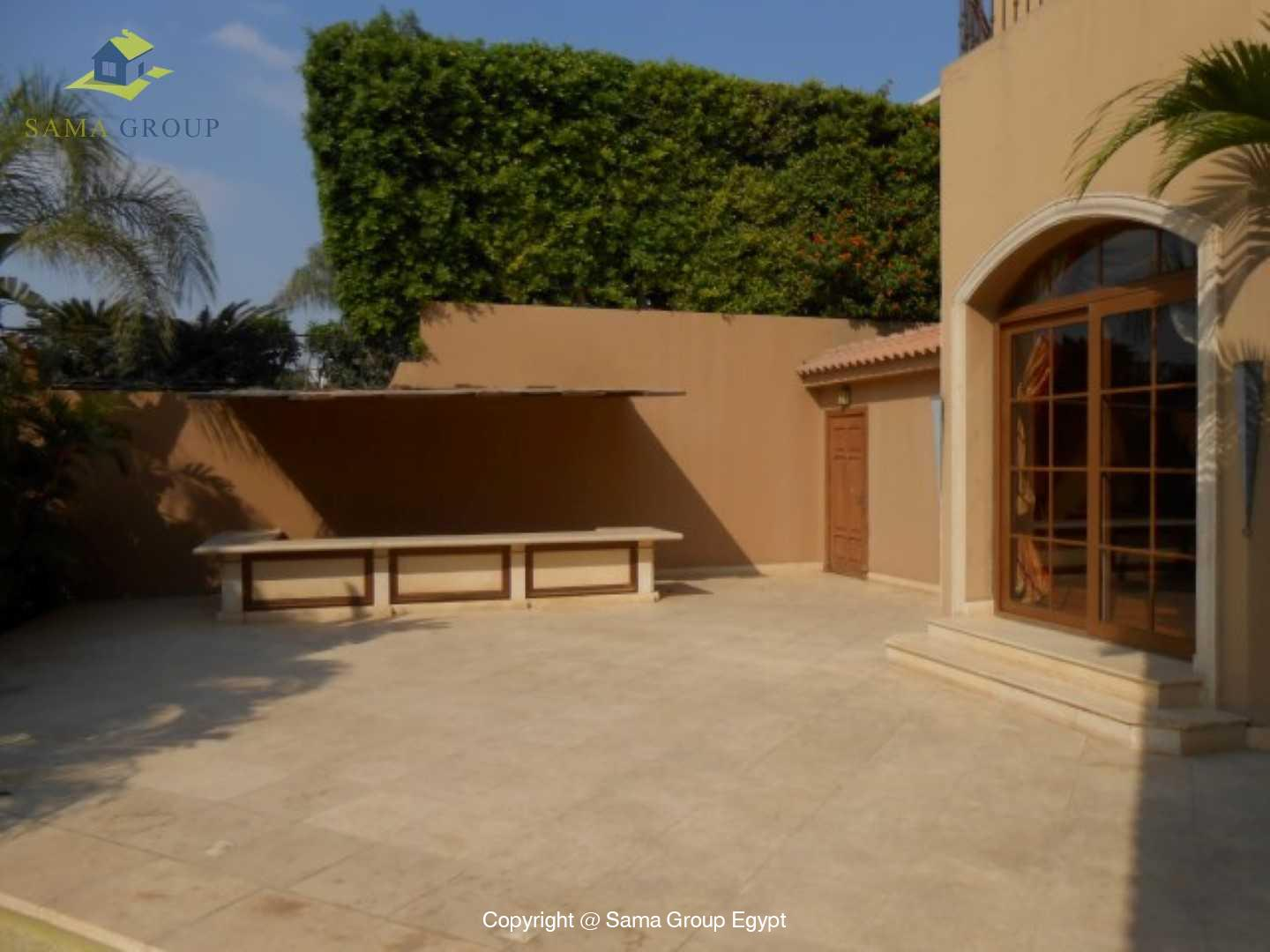 Villa For Rent In Katameya Heights,Semi furnished,Villa NO #34