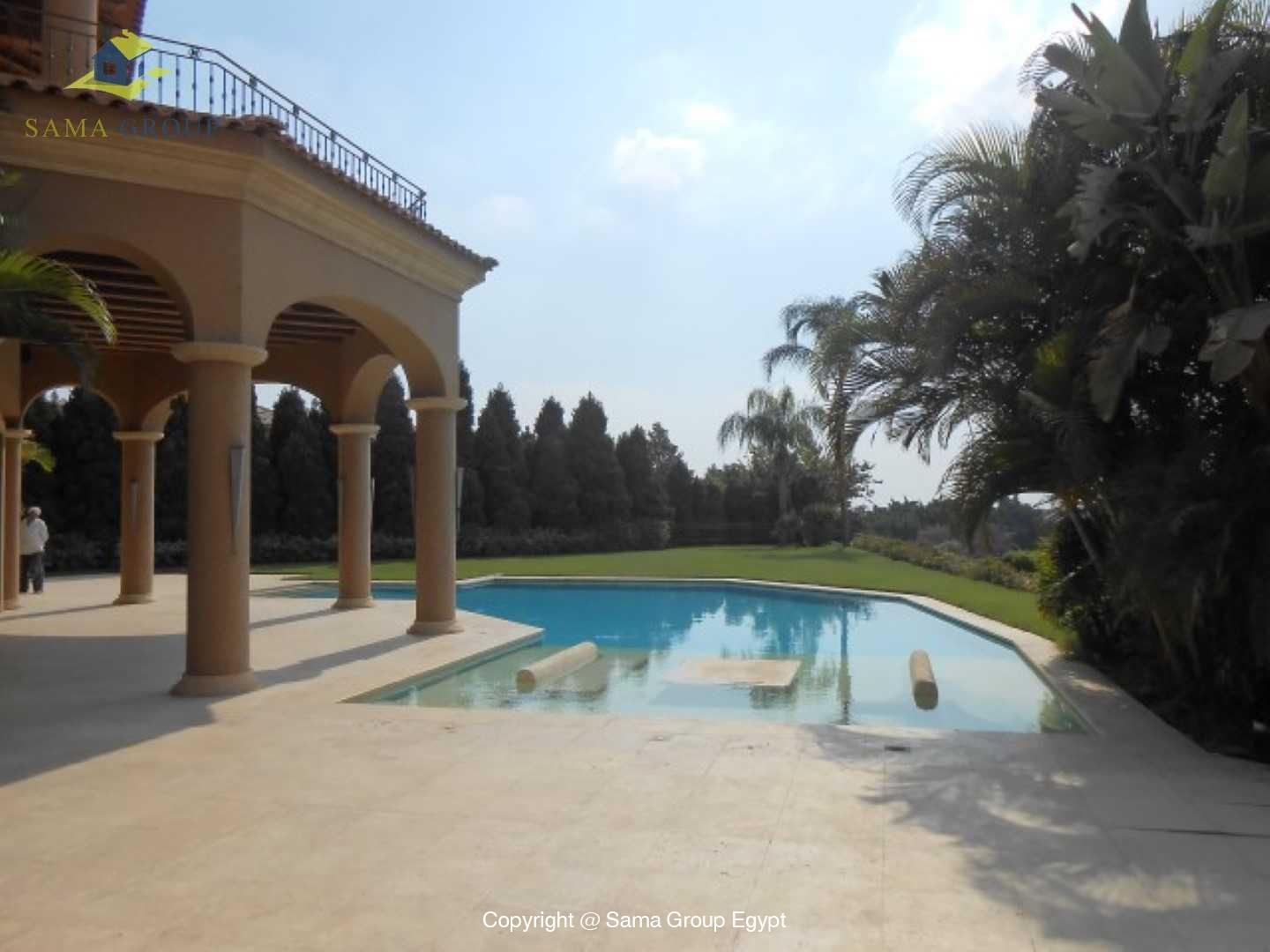 Villa For Rent In Katameya Heights,Semi furnished,Villa NO #36