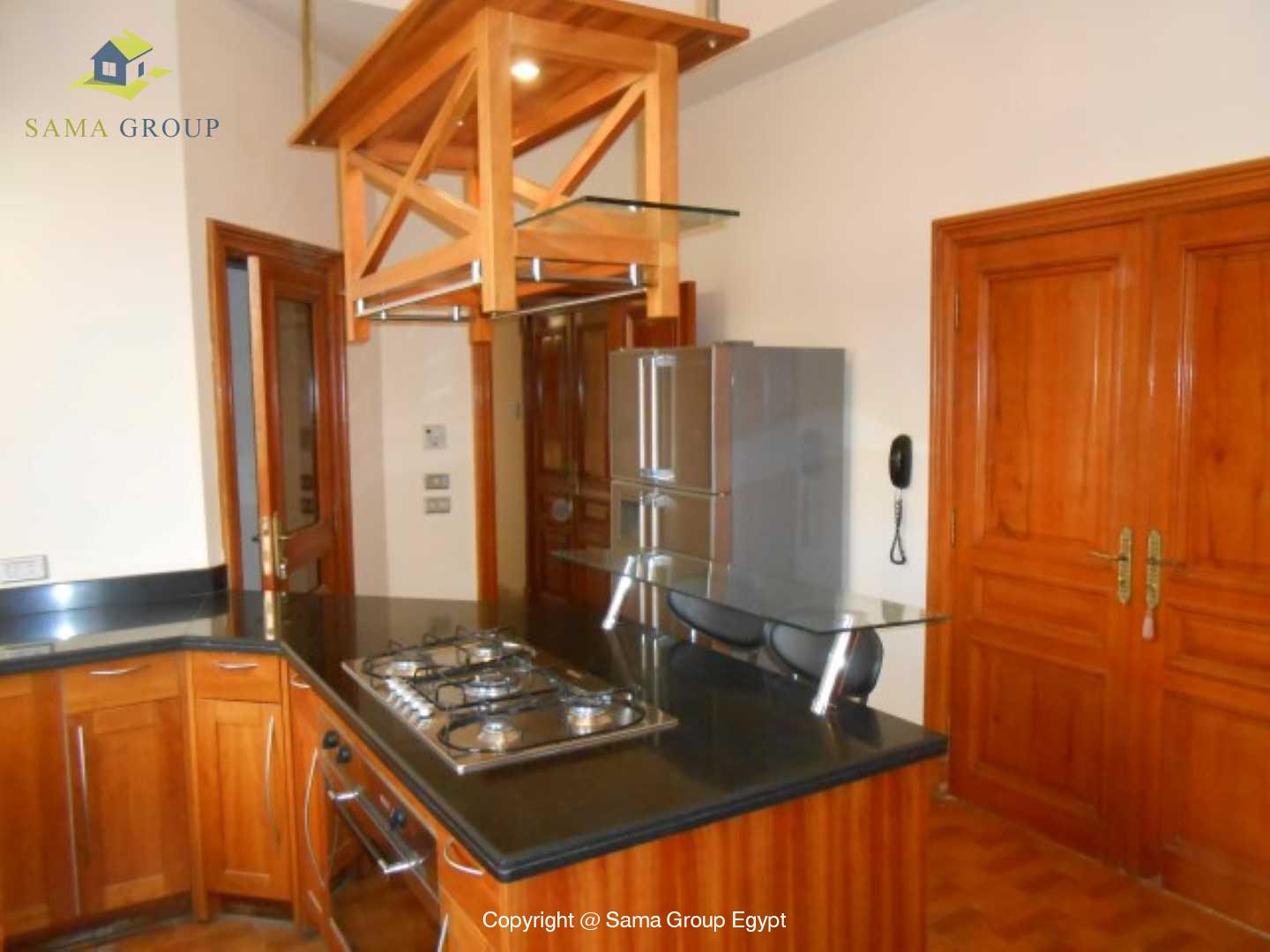 Villa For Rent In Katameya Heights,Semi furnished,Villa NO #18