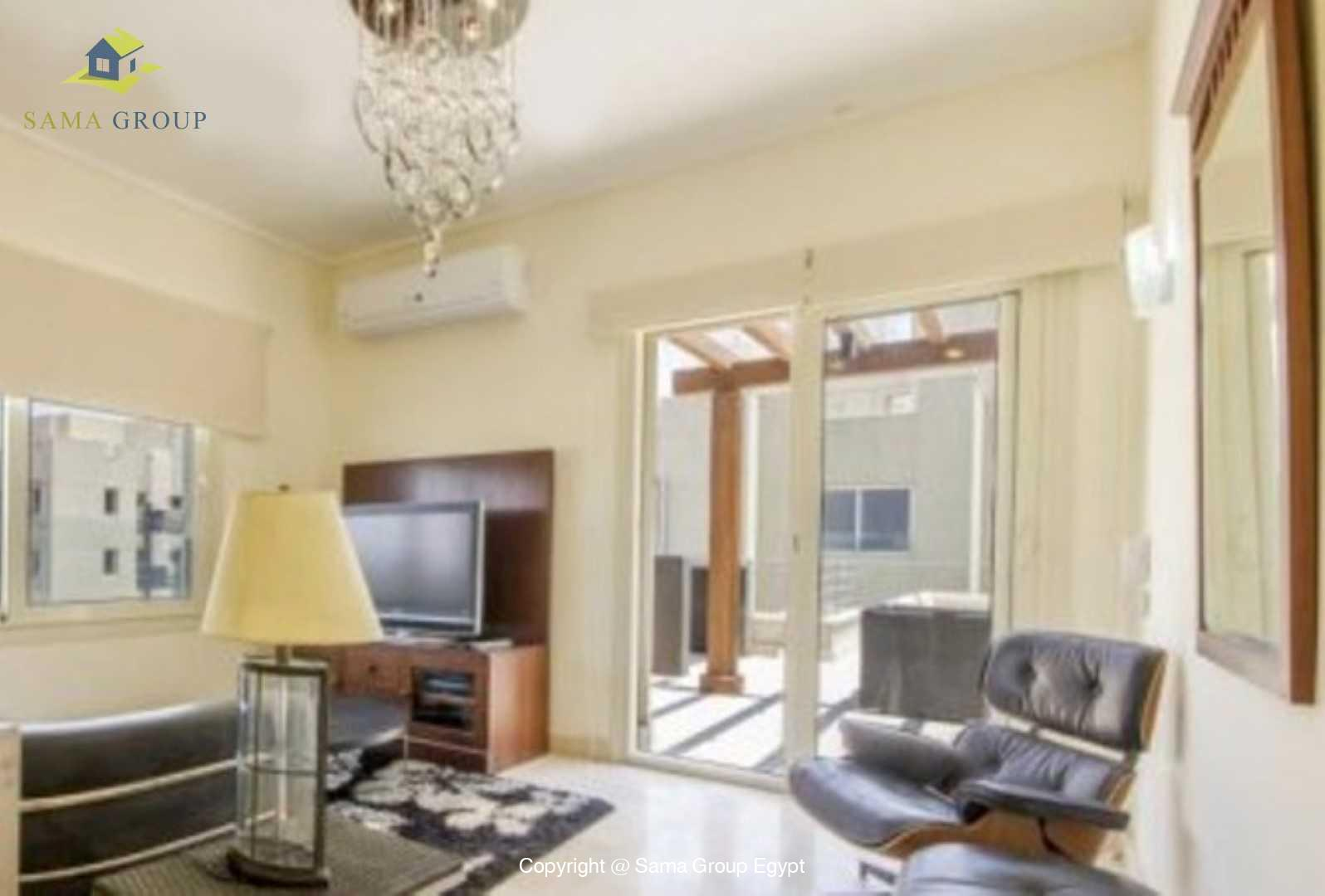 Penthouse For Rent In New Cairo The Village,Modern Furnished,Penthouse NO #9