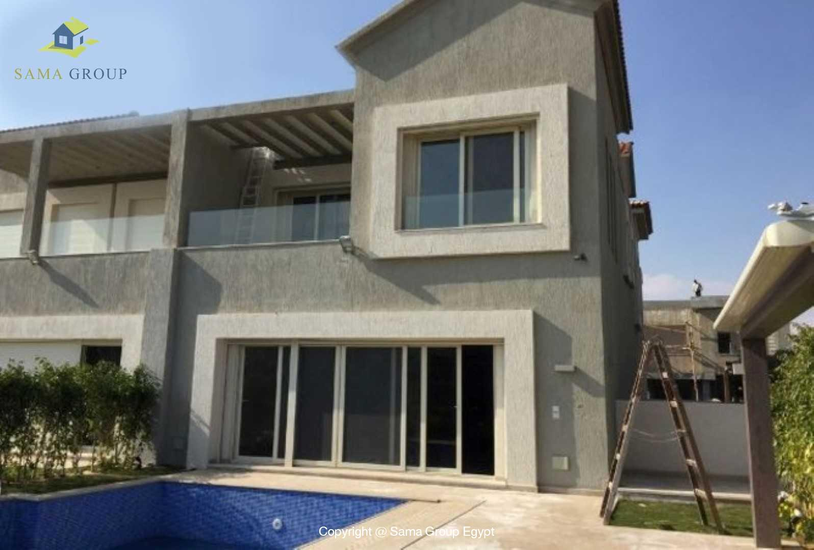 Twin House For Rent In New Cairo In Lake View,Semi furnished,Twin House NO #1