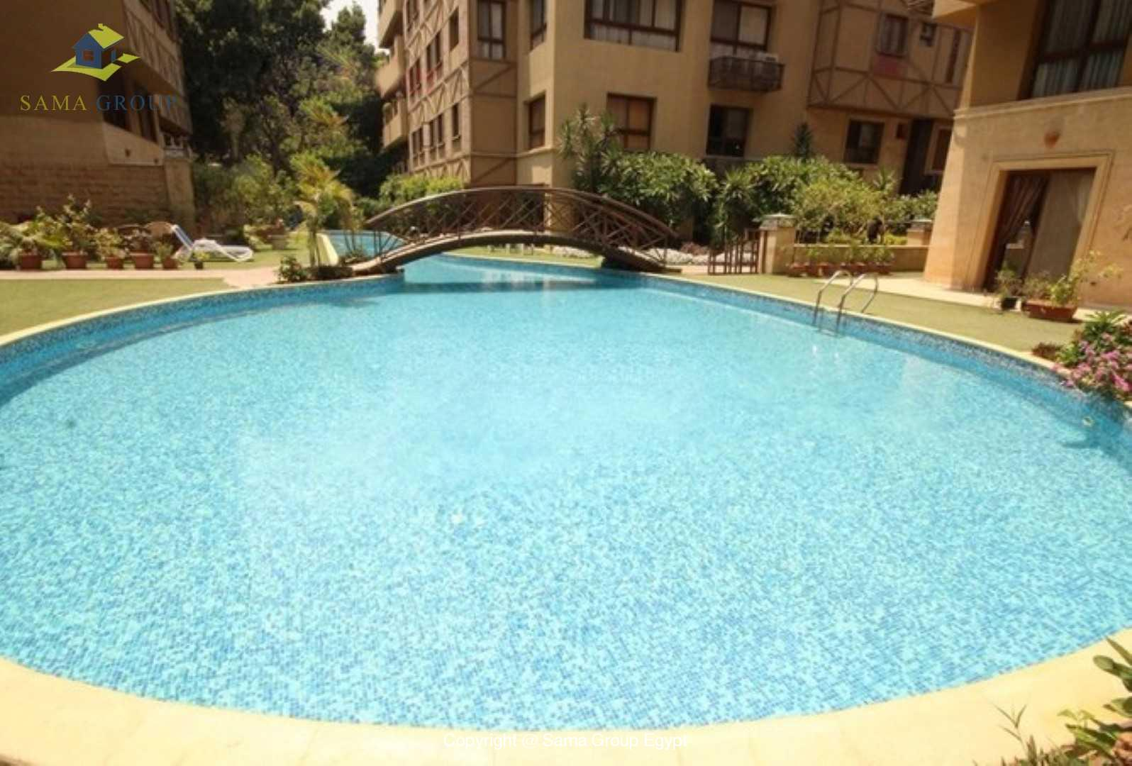 Furnished Ground Floor with Swimming Pool For Rent In Maadi