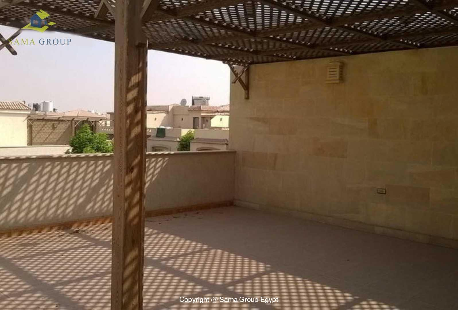 Twin House For Rent In New Cairo Katameya Residence,Semi furnished,Twin House NO #2