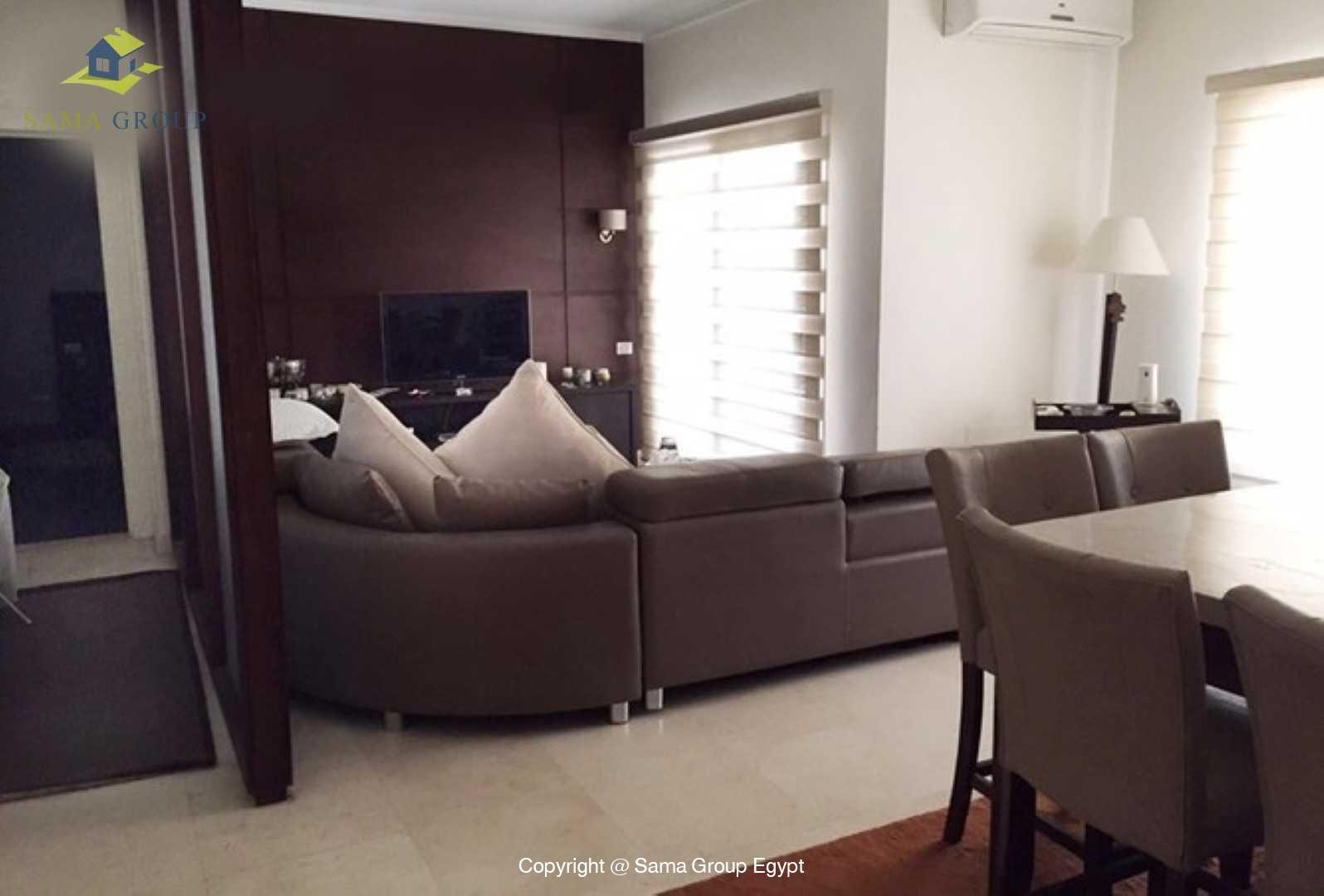 Ground Floor For Rent In New Cairo The Village,Modern Furnished,Ground Floor NO #4