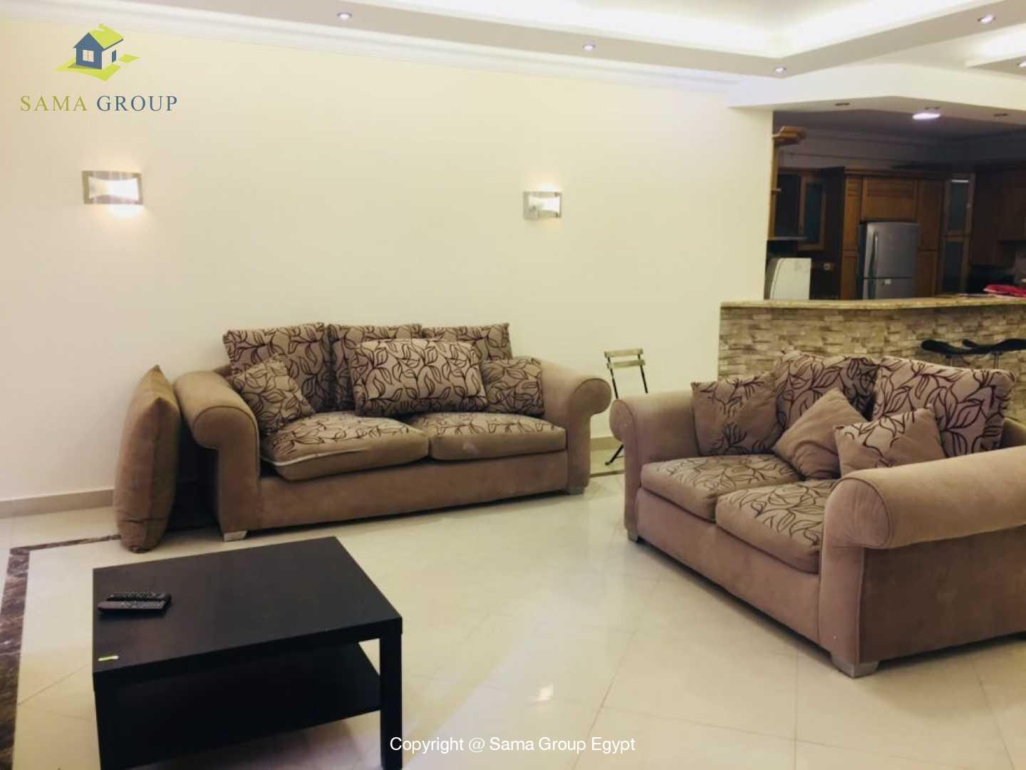 Brand New Ground Floor For Rent In Katameya Heights,Modern Furnished,Ground Floor NO #3