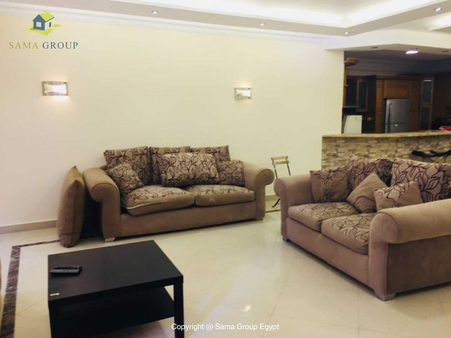 Brand New Ground Floor For Rent In Katameya Heights,Modern Furnished,Ground Floor NO #10