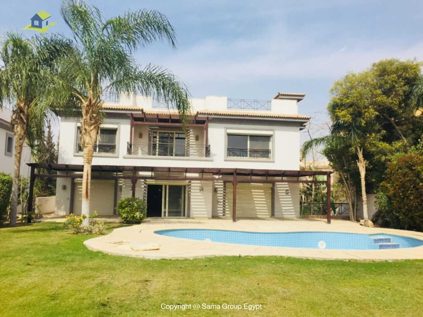 Villa For Rent In Katameya Heights,Modern Furnished,Villa NO #24