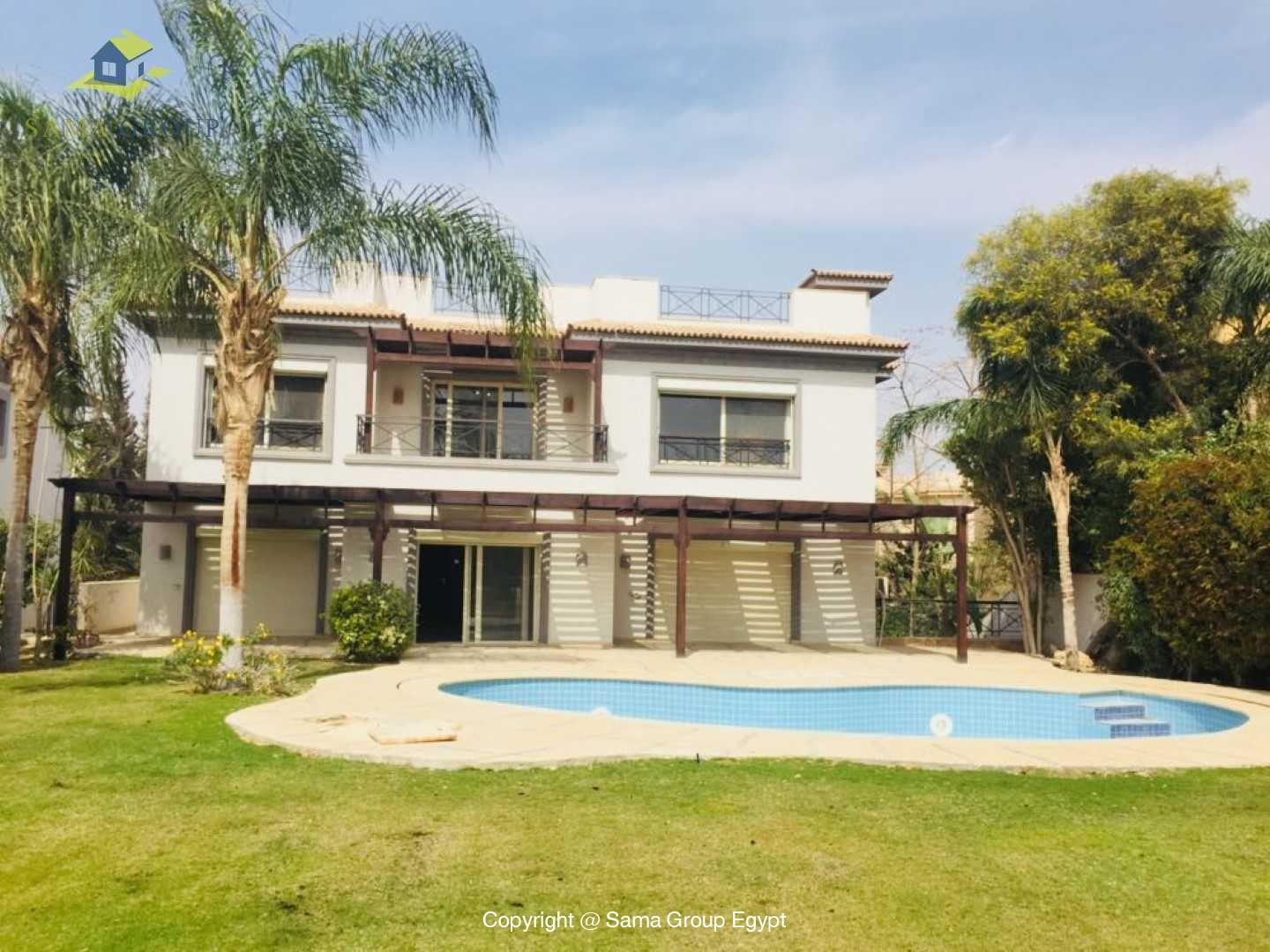 Villa For Rent In Katameya Heights,Modern Furnished,Villa NO #6