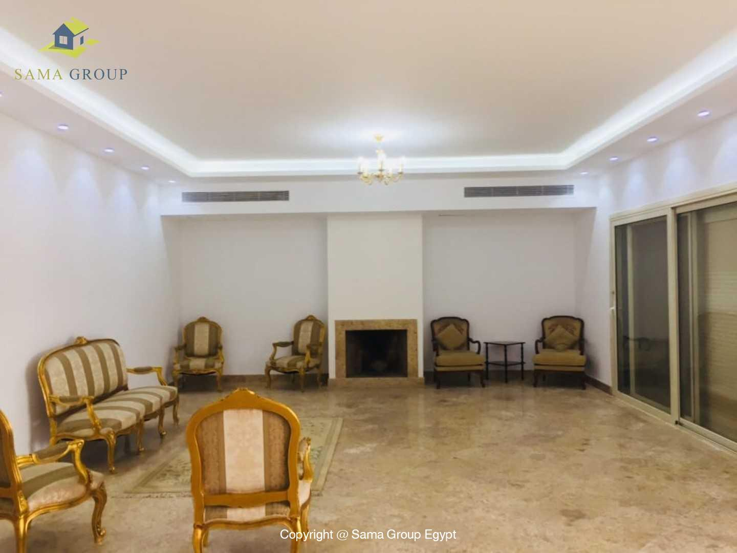 Villa For Rent In Katameya Heights,Modern Furnished,Villa NO #3