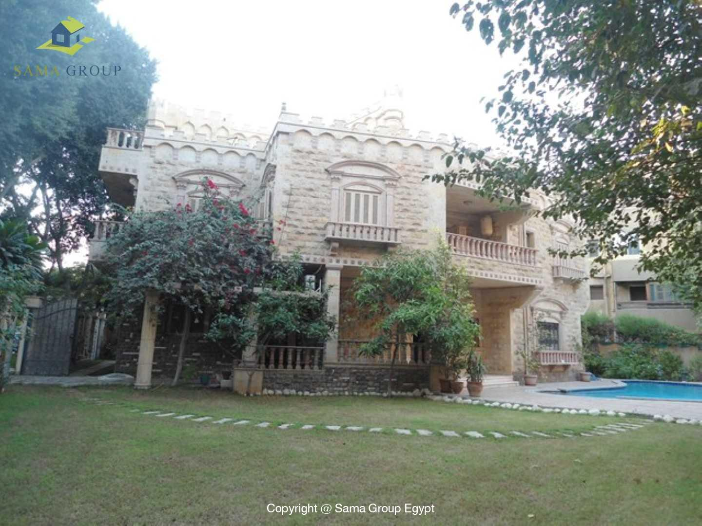 Villa For Rent In Maadi,Semi furnished,Villa NO #1