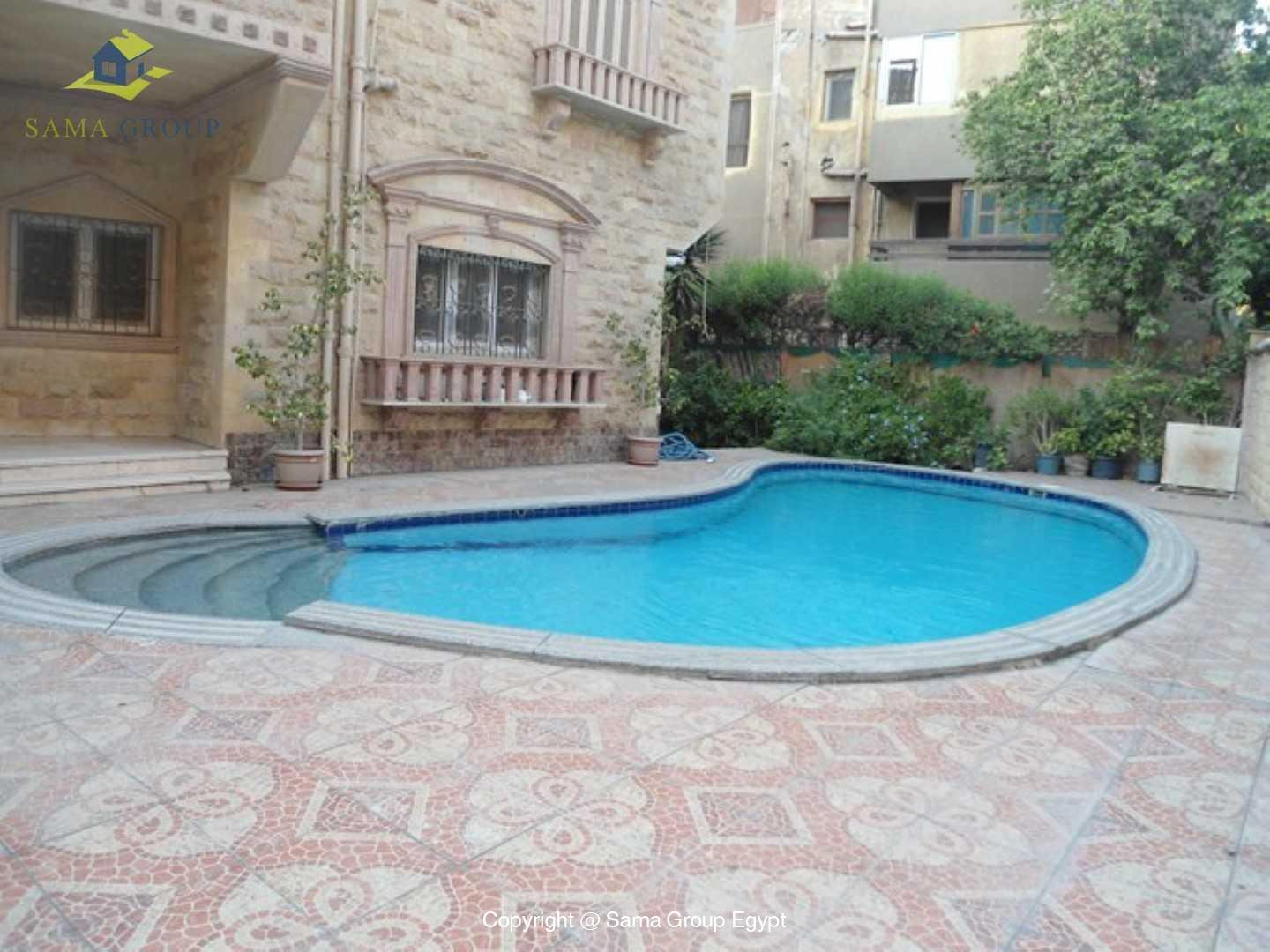 Villa For Rent In Maadi,Semi furnished,Villa NO #15