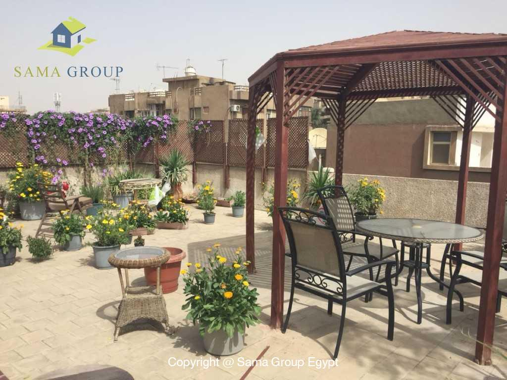 Furnished Apartment Duplex Roof For Rent In Maadi
