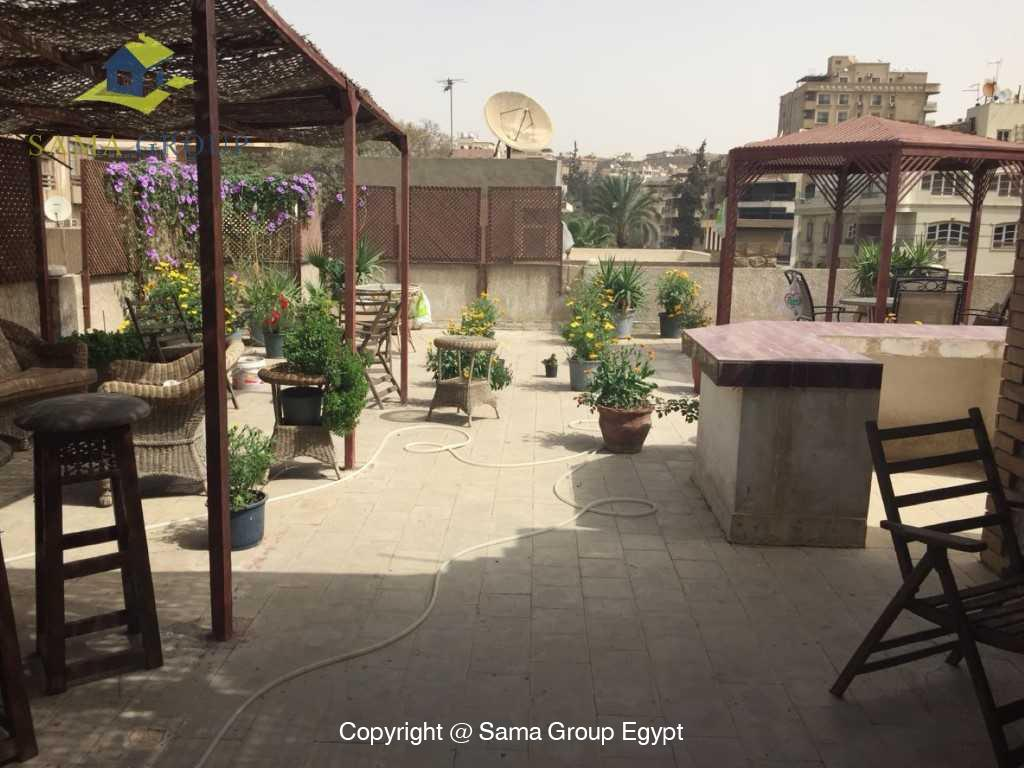 Furnished Apartment Duplex Roof For Rent In Maadi,Furnished,Penthouse NO #25