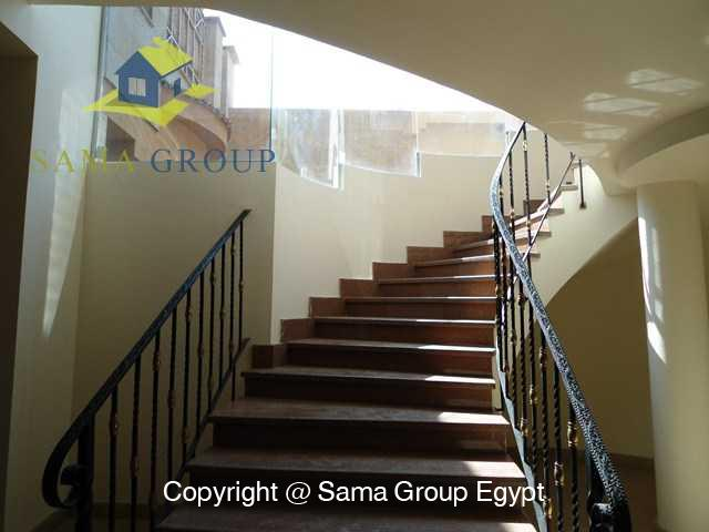 Apartment Ground Floor Duplex For Sale In Maadi,Semi furnished,Ground Floor - duplex NO #19